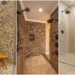 """29 ไอเดีย """"กระเบื้องลายหินตกแต่งห้องน้ำ"""" สวยงามสะอาดตา ให้บรรยกาศที่เป็นธรรมชาติ"""