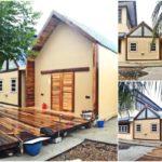 บ้านแนวโมเดิร์นขนาดกะทัดรัด 2 ห้องนอน 2 ห้องน้ำ ในงบเพียง 600,000 บาท