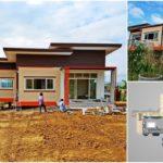 บ้านตากอากาศสไตล์โมเดิร์น รูปลักษณ์โดดเด่น เน้นความปลอดโปร่ง พร้อมวิวธรรมชาติ (ก่อสร้างที่จังหวัดเพชรบูรณ์)