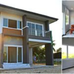 บ้านสองชั้นสไตล์คอนเทมโพรารี เน้นความเรียบง่าย แต่มีความปลอดโปร่งทุกพื้นที่