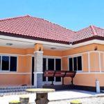 บ้านสไตล์คอนเทมโพรารี 3 ห้องนอน 2 ห้องน้ำ พร้อมพื้นที่ใช้สอย 81 ตารางเมตร (ก่อสร้างที่จังหวัดอุบลราชธานี)