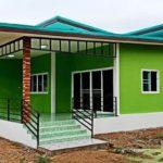 บ้านสไตล์คอนเทมโพรารีชั้นเดียว 3 ห้องนอน 2 ห้องน้ำ ลงตัวในพื้นที่ขนาด 120 ตารางเมตร