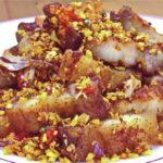 """แชร์สูตรเด็ด """"สามชั้นทอดน้ำปลาคั่วพริกกระเทียม"""" เมนูกับแกล้มกรุบกรอบ หรือจะทานกับข้าวสวยก็ฟิน"""