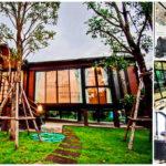 บ้านน็อคดาวน์ตากอากาศ ออกแบบยกพื้นสูง เหมาะสำหรับการพักผ่อนอย่างเต็มที่และผ่อนคลาย