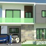 บ้านสองชั้นสไตล์โมเดิร์น 4 ห้องนอน 3 ห้องน้ำ ในงบประมาณที่คุ้มค่าไม่ถึงสองล้านบาท