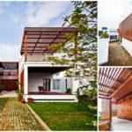 บ้านสองชั้นสไตล์โมเดิร์น ผสานการออกแบบด้วยกลิ่นอายความเป็นไทย เพื่อเป็นพื้นที่สำหรับครอบครัว