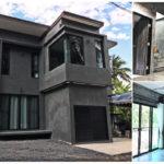 บ้านสองชั้น สไตล์โมเดิร์นลอฟท์ สวยดิบด้วยผนังปูนเปลือยทั้งภายนอกและภายใน