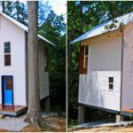 แบบบ้านสไตล์ลอฟท์ขนาดกระทัดรัด ออกแบบเพดานยกสูง พร้อมพื้นที่ใช้สอยครบทุกฟังก์ชั่นการใช้งาน