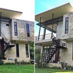 บ้านสไตล์โมเดิร์นลอฟท์สองชั้น โดดเด่นมีเอกลักษณ์ ให้บรรยากาศการพักอาศัยสุดอาร์ต