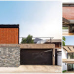 บ้านสองชั้นสไตล์โมเดิร์นลอฟท์ สวยดิบด้วยผนังอิฐโชว์แนว และผนังปูนเปลือย พร้อมโครงสร้างเหล็ก