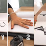 "DIY เพ้นท์ภาพสีด้วย ""เส้นเชือก"" งานศิลปะขั้นเทพที่เนรมิตได้ในนิ้วเดียว!!"