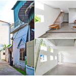 แบบบ้านสามชั้นสไตล์โมเดิร์น ดีไซน์ตัวบ้านทรงสูง ใช้ประโยชน์จากที่ดินขนาดเล็กได้อย่างคุ้มค่า