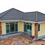 บ้านชั้นเดียวแนวร่วมสมัย 3 ห้องนอน 3 ห้องน้ำ กว้างขวางปลอดโปร่ง พร้อมพื้นที่ใช้สอย 130 ตารางเมตร