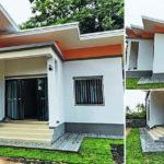 บ้านโมเดิร์นราคาประหยัด 3 ห้องนอน 1 ห้องน้ำ 74 ตร.ม. งบประมาณ 595,000 บาท (จังหวัดอุบลราชธานี)