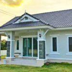 บ้านสไตล์ไทยร่วมสมัยชั้นเดียว ดีไซน์โดดเด่น แฝงความสวยงามมีเอกลักษณ์ ในขนาด 3 ห้องนอน 2 ห้องน้ำ