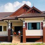 บ้านชั้นเดียวสไตล์ไทยประยุกต์ 3 ห้องนอน 2 ห้องน้ำ พร้อมพื้นที่ใช้สอย 100 ตารางเมตร