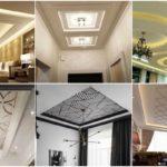 """32 ไอเดีย """"ตกแต่งฝ้าเพดาน"""" หลากหลายสไตล์ เสริมให้บ้านดูสวยงามมีมิติ"""