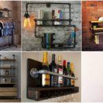 """35 ไอเดีย """"ชั้นวางของสไตล์ลอฟท์"""" สร้างสรรค์ได้ด้วยท่อเหล็กและแผ่นไม้ ตกแต่งบ้านในดีไซน์สุดอาร์ต"""