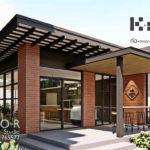 แบบร้านกาแฟขนาดเล็ก สไตล์โมเดิร์น พื้นที่ใช้สอย 30 ตร.ม. ในงบ 4.8 แสนบาท ไอเดียเพื่อคนอยากทำธุรกิจ