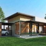 แบบบ้านสองชั้นสไตล์โมเดิร์น 4 ห้องนอน 4 ห้องน้ำ พร้อมพื้นที่ใช้สอยกว่า 370 ตารางเมตร