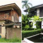 """รีโนเวทและต่อเติม """"บ้านเก่ากึ่งไม้กึ่งปูน"""" ให้กลายเป็น """"บ้านโมเดิร์นลอฟท์"""" สวยงามและทันสมัย"""