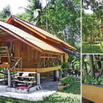 """พาชม """"บ้านปีกไม้กลางสวน"""" กับวิถีชีวิตเรียบง่าย ภายใต้อ้อมกอดของธรรมชาติอันอบอุ่น"""