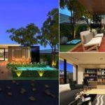 บ้านชั้นเดียวแนวโมเดิร์น เน้นสวยเท่และใช้งานได้ทุกพื้นที่ พร้อมสระน้ำสนามหญ้า และระเบียงชมสวน