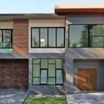 แบบบ้านสองชั้นสไตล์โมเดิร์น ขนาด 3 ห้องนอน 2 ห้องน้ำ พร้อมพื้นที่ใช้สอยกว้างขวางถึง 191 ตารางเมตร