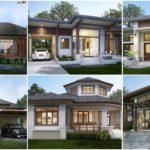 รวม 22 แบบบ้านชั้นเดียว สไตล์ทรอปิคอล & โมเดิร์นทรอปิคอลแบบบ้านในฝันของคนรักธรรมชาติ