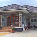 บ้านสไตล์คอนเทมโพรารี 3 ห้องนอน 2 ห้องน้ำ ครบครันพร้อมอยู่สำหรับครอบครัวขนาดกลาง