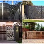 """38 ไอเดีย """"ประตูรั้วบ้าน"""" ออกแบบปราการด่านแรกของบ้าน ให้มีเสน่ห์ และสร้างความประทับใจ"""
