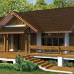 แบบบ้านไม้ไทยประยุกต์ อบอุ่นแบบดั้งเดิม 2 ห้องนอน 2 ห้องน้ำ เข้ากับบรรยากาศธรรมชาติ