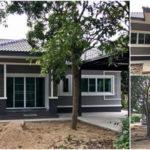 บ้านชั้นเดียวสไตล์คอนเทมโพรารี พร้อมโรงจอดรถและดาดฟ้าชมวิว 3 ห้องนอน 2 ห้องน้ำ งบก่อสร้าง 9 แสนบาท (จังหวัดเชียงใหม่)