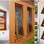 """40 ไอเดีย """"หน้าต่างบานกระทุ้ง"""" ช่วยระบายอากาศ พร้อมป้องกันฝนสาดเข้าบ้าน"""