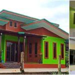 บ้านโทนสีเขียวแนวโมเดิร์น 2 ห้องนอน 1 ห้องน้ำ ครบครันทุกพื้นที่พักผ่อน ในขนาด 75 ตารางเมตร