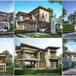"""19 ไอเดีย """"แบบบ้านสองชั้นสไตล์โมเดิร์นทรอปิคอล"""" ไอเดียเริ่มต้น สานฝันคนอยากมีบ้านสวยดีไซน์เด่น"""