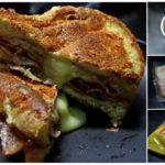 """แบ่งปัน เมนูอาหารว่าง """"แซนวิชย่างชีสกับเบคอน มันฝรั่งทอด"""" ชีสยืดๆ มันฝรั่งหอมๆ ความอร่อยที่แสนลงตัว"""