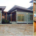 บ้านยกพื้นสไตล์ลอฟท์ โดดเด่นด้วยผนังลายอิฐโชว์แนว 2 ห้องนอน 1 ห้องน้ำ (ก่อสร้างที่จังหวัดลำปาง)