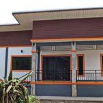 บ้านชั้นเดียวสไตล์โมเดิร์น 3 ห้องนอน 2 ห้องน้ำ เรียบง่ายลงตัวสำหรับครอบครัวขนาดกลาง