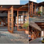 บ้านสไตล์โมเดิร์นลอฟท์ ตกแต่งสวยงามด้วยผนังปูนเปลือย ลงตัวไปกับเฟอร์นิเจอร์งานไม้