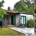 บ้านตากอากาศสไตล์ลอฟท์ พื้นที่พักผ่อนรับความสดชื่น พร้อมสภาพแวดล้อมสีเขียวชอุ่ม