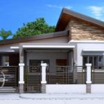 แบบบ้านสไตล์โมเดิร์น ดีไซน์เรียบง่าย เน้นพื้นที่ใช้สอยครบครัน 3 ห้องนอน 2 ห้องน้ำ