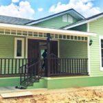 บ้านสไตล์อิงลิชคันทรี โดดเด่นในโทนสีเขียว พร้อมพื้นที่ใช้สอยครบครัน ในขนาด 75 ตารางเมตร
