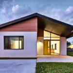 บ้านชั้นเดียวสไตล์โมเดิร์นขนาดเล็ก ออกแบบภายในอย่างเรียบง่าย ตอบโจทย์ทุกฟังก์ชั่นการใช้งาน