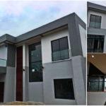 บ้านสองชั้นสไตล์โมเดิร์น ออกแบบพร้อมพื้นที่ดาดฟ้าโปร่งสบาย