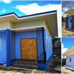 บ้านโมเดิร์นขนาดกะทัดรัด ขนาด 2 ห้องนอน 1 ห้องน้ำ ตกแต่งในโทนสีฟ้าสดใส งบก่อสร้าง 5.99 แสนบาท