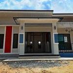บ้านหลังน้อยสไตล์โมเดิร์น โทนสีขาวน่ารัก 2 ห้องนอน 1 ห้องน้ำ สร้างด้วยงบเพียง 6.5 แสนบาท