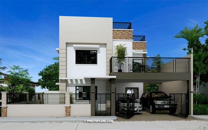 25 ไอเดีย แบบบ้านพร้อมดาดฟ้า ออกแบบด้วยรูปทรงสุดชิค