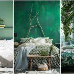 """25 ไอเดีย ตกแต่งห้องนอนด้วยโทน """"สีเขียว"""" สร้างบรรยากาศการพักผ่อนที่สดชื่น และผ่อนคลาย"""