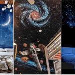 """25 ไอเดีย ตกแต่งห้องนอนในรูปแบบ """"ดวงดาวและอวกาศ"""" ดื่มด่ำแสงดาวสุดโรแมนติก"""